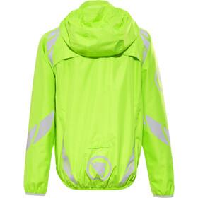 Endura Luminite II Jas Kinderen, hi-viz green/reflective